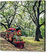 The Little Engine That Could - City Park New Orleans Acrylic Print