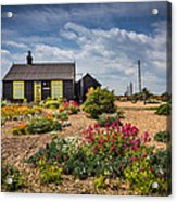 The Little House. Acrylic Print by Gary Gillette