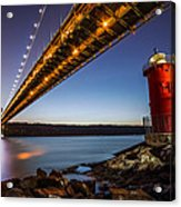 The Little Red Lighthouse Acrylic Print