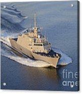 The Littoral Combat Ship Acrylic Print