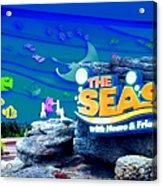 The Living Seas Signage Walt Disney World Acrylic Print