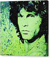 The Lizard King Acrylic Print by Chris Mackie
