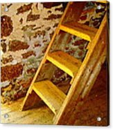 The Loft Steps Acrylic Print