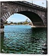 The London Bridge Is In Arizona Acrylic Print