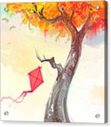 The Lonely Kite Acrylic Print