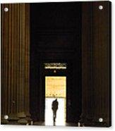 The Lonely Parisian Acrylic Print