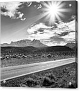 The Lonely Road Acrylic Print