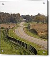 The Long And Winding Road Acrylic Print