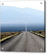 The Lonliest Road In America Acrylic Print