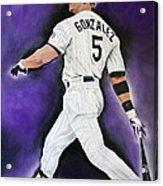 Carlos Gonzales Acrylic Print