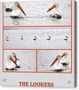 The Lookers Acrylic Print