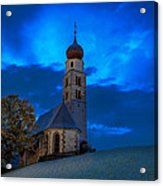 The Lord Is My Light - The Italian Dolomites Acrylic Print