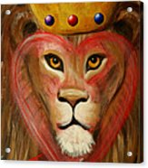 The Lord Of My Heart Acrylic Print