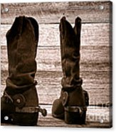 The Lost Boots Acrylic Print