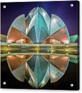The Lotus Temple Acrylic Print