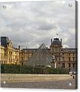 The Louvre Acrylic Print