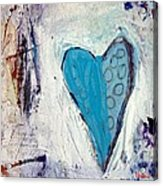 The Love Inside Acrylic Print