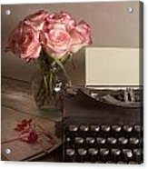 The Love Letter Acrylic Print