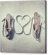 The Love Of A Ballerina Acrylic Print