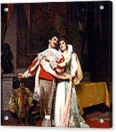 The Lovers Farewell Acrylic Print