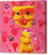 The Lucky Cat Acrylic Print