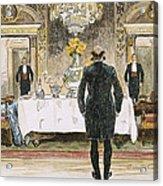 The Lucky Rich, 1896 Acrylic Print