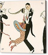 The Madness Of The Day Acrylic Print by Georges Barbier