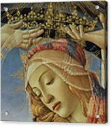 The Madonna Of The Magnificat Acrylic Print by Sandro Botticelli