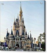 The Magic Kingdom Castle On A Beautiful Summer Day Acrylic Print