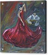The Magic Of Dance Acrylic Print