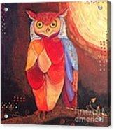 The Magical Mystical Owl Acrylic Print