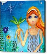 The Magicians Daughter Acrylic Print
