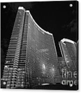 The Magnificent Aria Resort And Casino At Citycenter In Las Vegas Acrylic Print