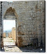 The Main Door To St.george Ruins Acrylic Print