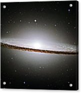 The Majestic Sombrero Galaxy Acrylic Print