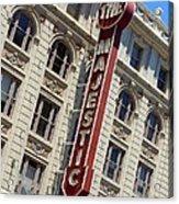 The Majestic Theater Dallas #2 Acrylic Print