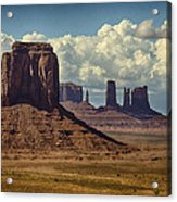 The Majesty Of Monument Valley  Acrylic Print