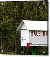 The Male Box Acrylic Print