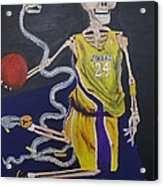 The Mamba Strikes Acrylic Print