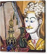 The Man In The Mirror Acrylic Print