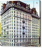 The Manhattan Hotel In New York City 1897 Acrylic Print