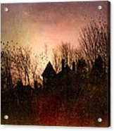 The Mansion Is Warm At The Top Of The Hill Acrylic Print by Bob Orsillo