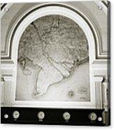 The Map Acrylic Print