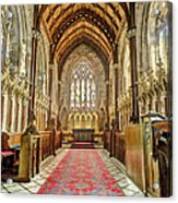 The Marble Church Interior Acrylic Print