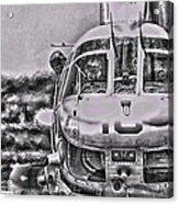 The Marine Crew Chief Acrylic Print