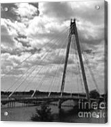 The Marine Road Bridge Southport Acrylic Print