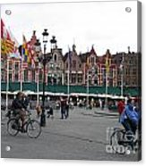 The Markt Bruges Belgium Acrylic Print