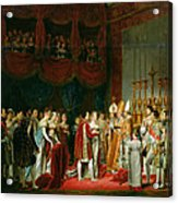 The Marriage Of Napoleon I 1769-1821 And Marie Louise 1791-1847 Archduchess Of Austria, 2nd April Acrylic Print