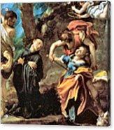 The Martyrdom Of Four Saints Acrylic Print