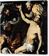 The Martyrdom Of Saint Lawrence Acrylic Print by Jusepe de Ribera